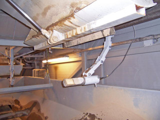 датчик влажности на бетонном заводе